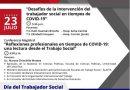 Conferencia Magistral: Desafíos de la Intervención del Trabajador Social en Tiempos de COVID-19